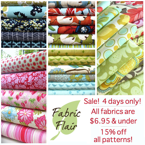 fabric flair sale