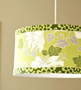 fabric drum shade