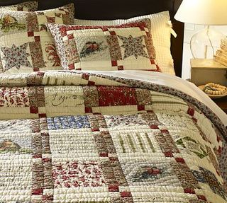 patchwork quilt pottery barn