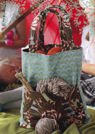 reversible everyday shopper from amy butler