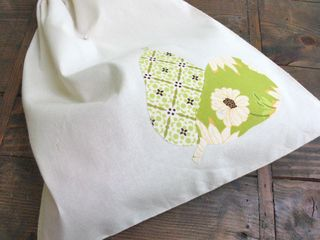 organic cotton produce bag