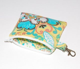 clip pouch from pink lady designs