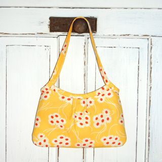 yellow bouquet bag from pink lady designs