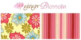 Ginger blossom fabric