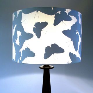 butterfly silhouette lamp shade